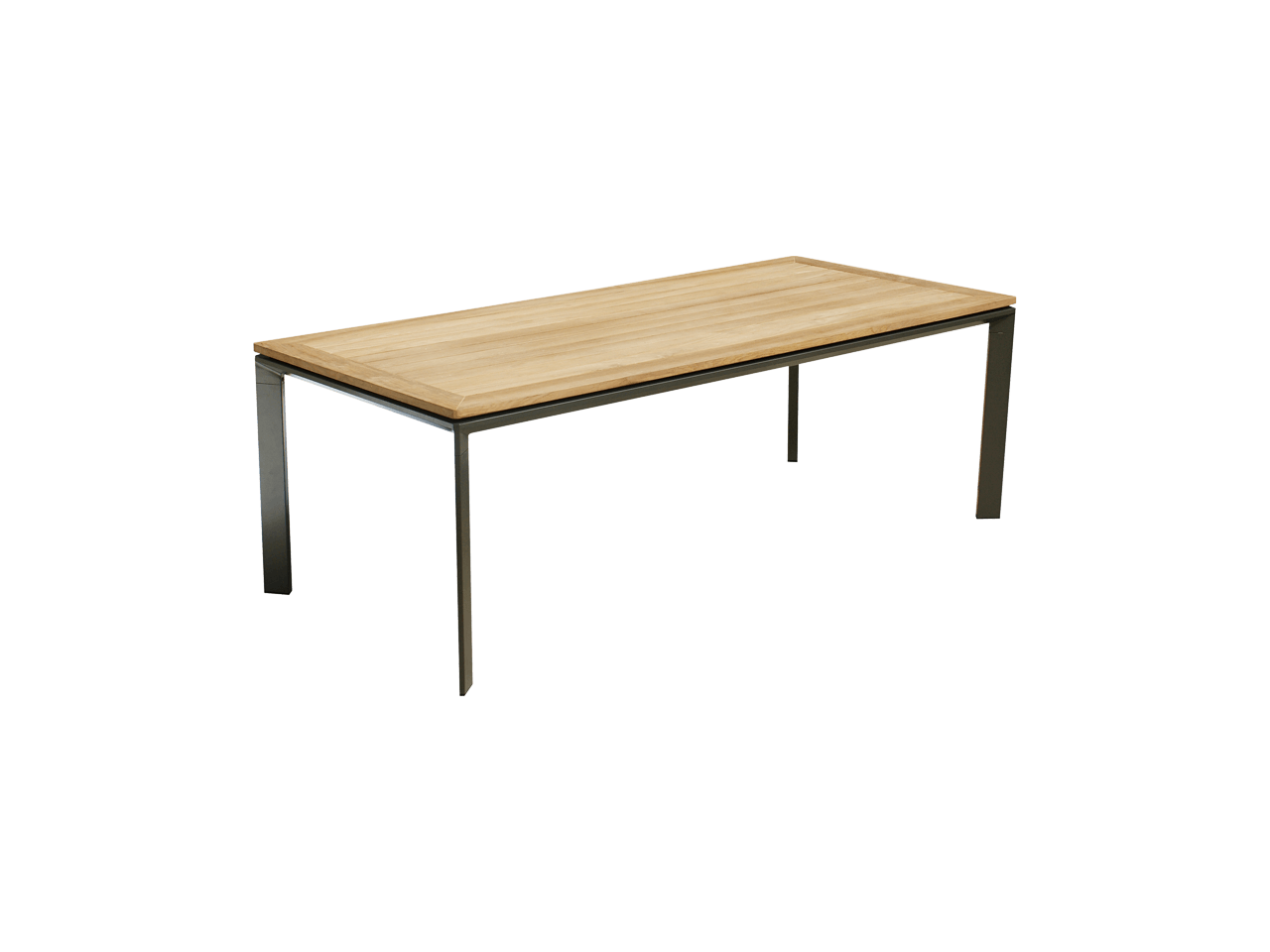 Magic tafel taupe 6 personen