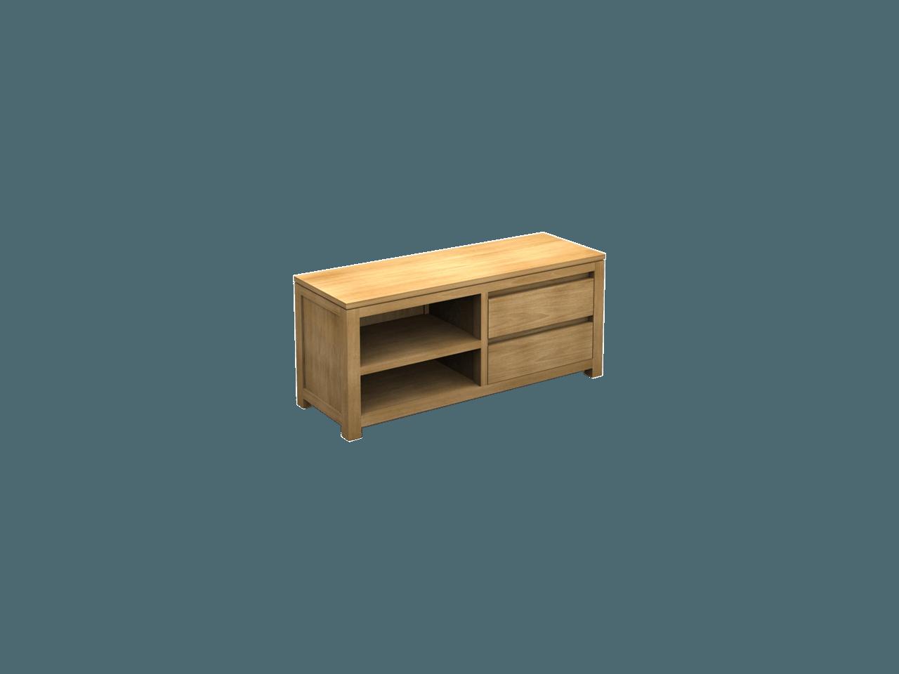 Smalle Tv Meubel : Singara tv meubel small teak deco