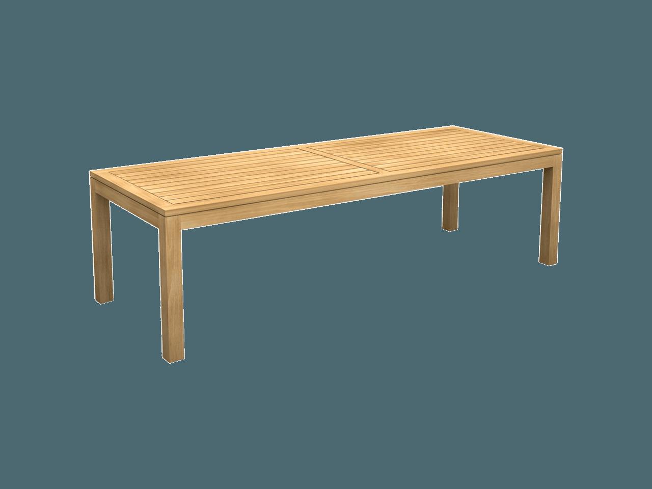 Tuintafel Met Glazen Bovenblad.Tiger Verlengbare Tafel 8 Personen Teak Deco
