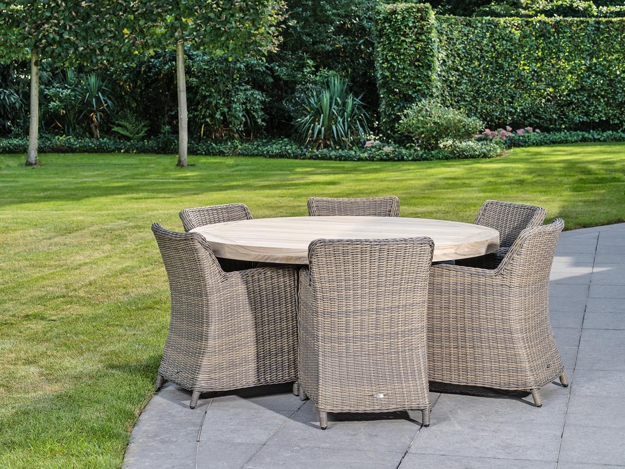 Hedendaags Riva tafel 6 personen | Teak Deco HB-28