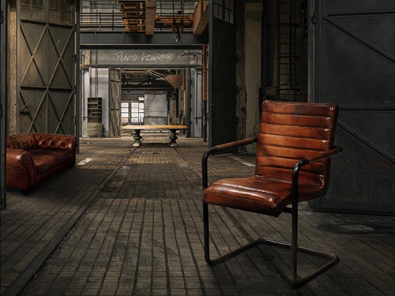 Cognac Kleur Stoel : Klassieke stoelen elegant klassieke eethoek met cognac kleurige