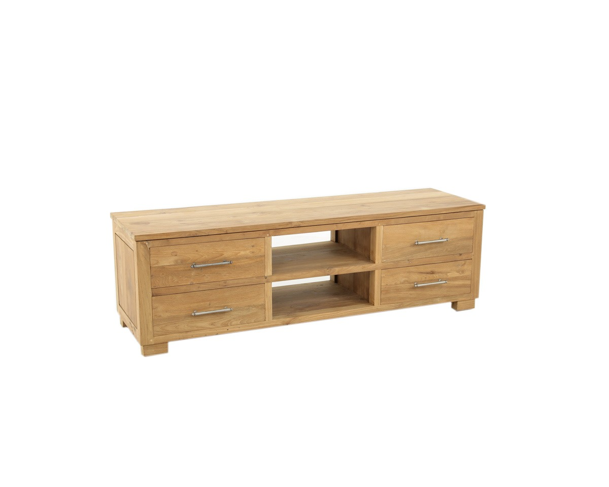 Tv Meubel Aanbieding.Toulouse Tv Meubel Teak Deco
