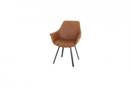 QLC-1070-cognac-teakdeco-wonen-stoelen