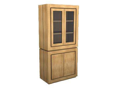 ND6021lono-teakdeco-wonen-modern-teakmeubel-vitrinekast-klein-1.png